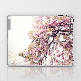 Cherry blossoms in Paris, Eiffel Tower II Laptop & iPad Skin