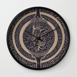 Heart of the Matter Concept Wall Clock