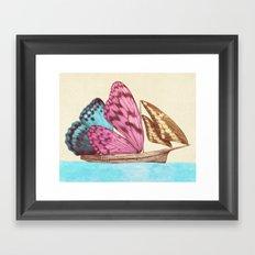 The Voyage (option) Framed Art Print