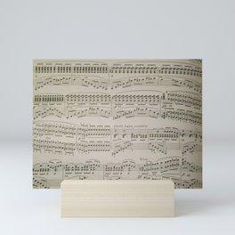 Chords and Arpeggios Mini Art Print