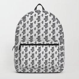 Zentangle Cat Backpack