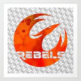 Star Wars Rebels Art Print
