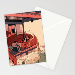 Tell a Dragon Colorful Stories Stationery Cards