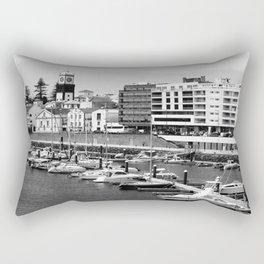 Ponta Delgada, Azores Rectangular Pillow