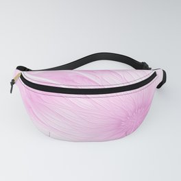 Pink Spring | Flower, abstract digital painting, cute floral pattern, pretty pastel flowers Fanny Pack