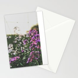 Purple Flowers • Appalachian Trail Stationery Cards
