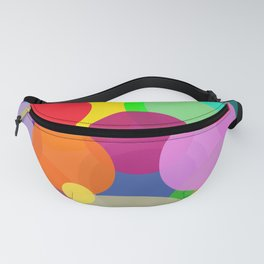 Colorful Circles Fanny Pack