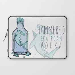 Hammered Sea Foam Vodka Laptop Sleeve