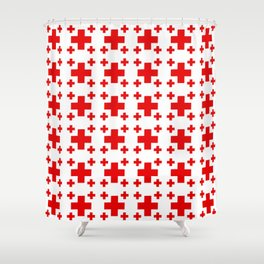 Jerusalem Cross 1 Shower Curtain