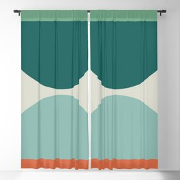 Abstract Geometric 20 Blackout Curtain
