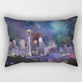 Spacey Seattle Rectangular Pillow