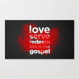 The Gospel Canvas Print