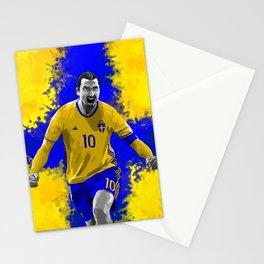 Zlatan Ibrahimovic - Sweden Stationery Cards