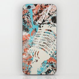 Paint Out Loud-Mic iPhone Skin
