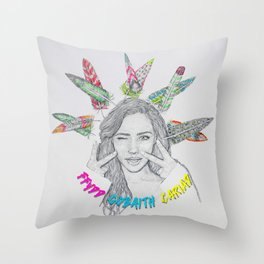 FFYDD, GOBAITH, CARIAD / Faith, Hope, Love Throw Pillow