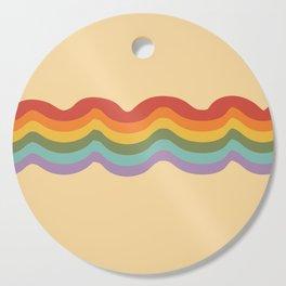 Rainbow Stripe 3 Cutting Board
