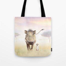 Warthog & Meerkat Tote Bag