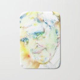 POPE FRANCIS - watercolor portrait.2 Bath Mat