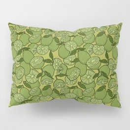 Lime Greenery Pillow Sham