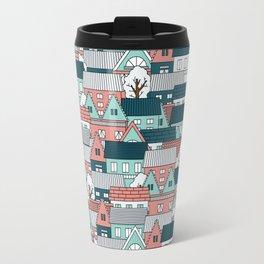 A lot of Houses Travel Mug