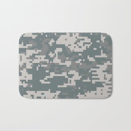 Digital Camouflage Bath Mat