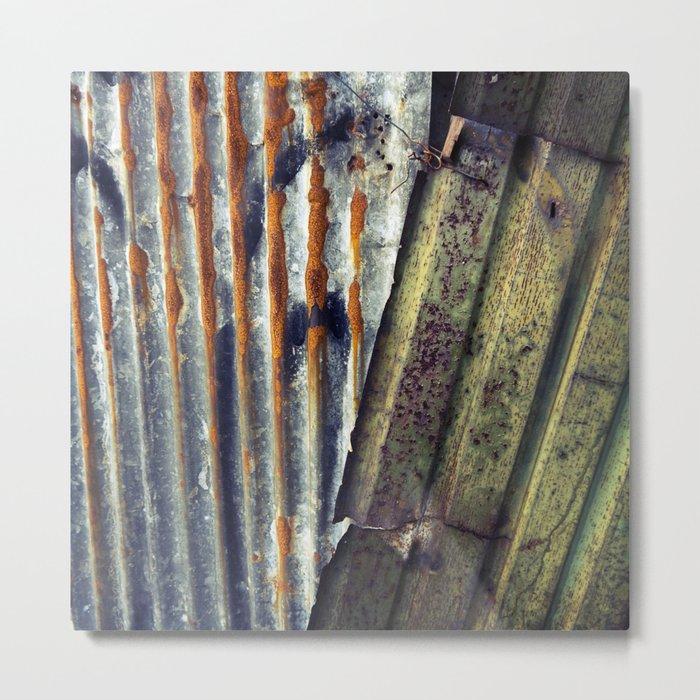 Corrugated  Metal Print