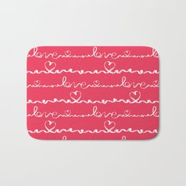 Love me tight Valentines Bath Mat