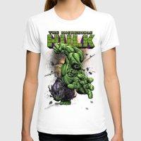 hulk T-shirts featuring Hulk by WaXaVeJu