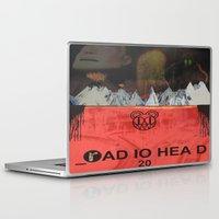 radiohead Laptop & iPad Skins featuring Radiohead 20 by W. Keith Patrick