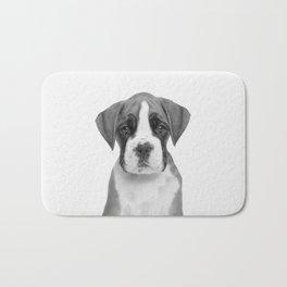 German Boxer Puppy Bath Mat