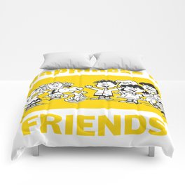 Snoopy Friends Comforters