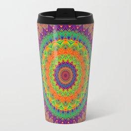 Mandala 458 (NEON) Travel Mug