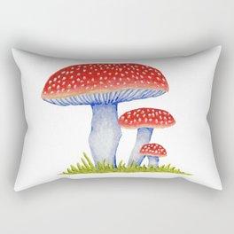 Woodland Toadstools Rectangular Pillow