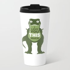 Amourosaurus Metal Travel Mug