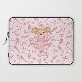 Adorable Ballerina Laptop Sleeve