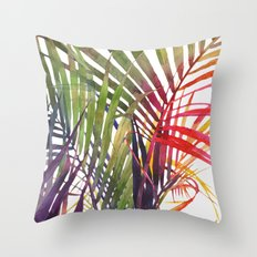 The Jungle vol 3 Throw Pillow
