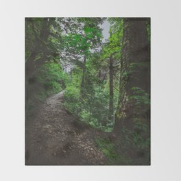 Trailblazing Throw Blanket
