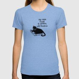 Pizza Box Cat T-shirt