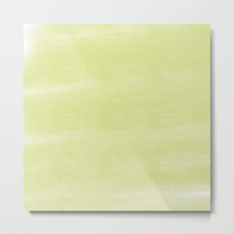 Chalky background - yellow Metal Print