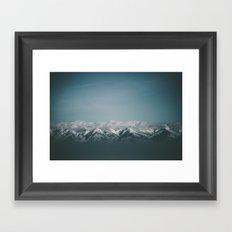 Wasatch Mountains Framed Art Print
