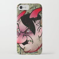 devil iPhone & iPod Cases featuring Devil by Beery Method