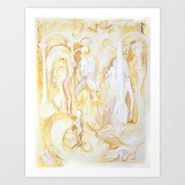 sepia II Art Print