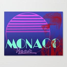 Vettel Vice: Monaco Heat Canvas Print