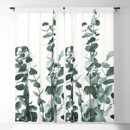Eucalyptus Leaves Blackout Curtain