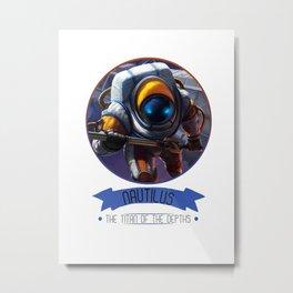League Of Legends - Nautilus Metal Print
