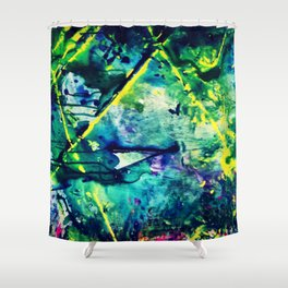 Flu Season Shower Curtain