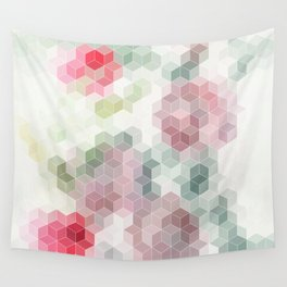 abstract geometric12 Wall Tapestry