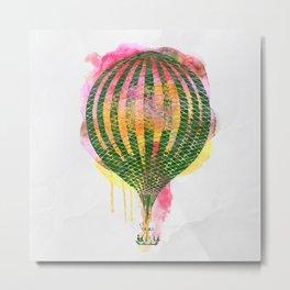 AP106 Hot air baloon Metal Print