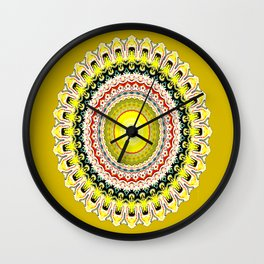 Feeling Lemony.... Wall Clock