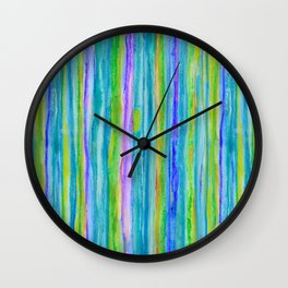 Into the Emerald Wall Clock